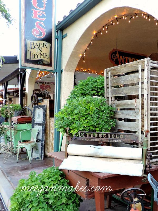 Boulder City Antique Stores Downtown