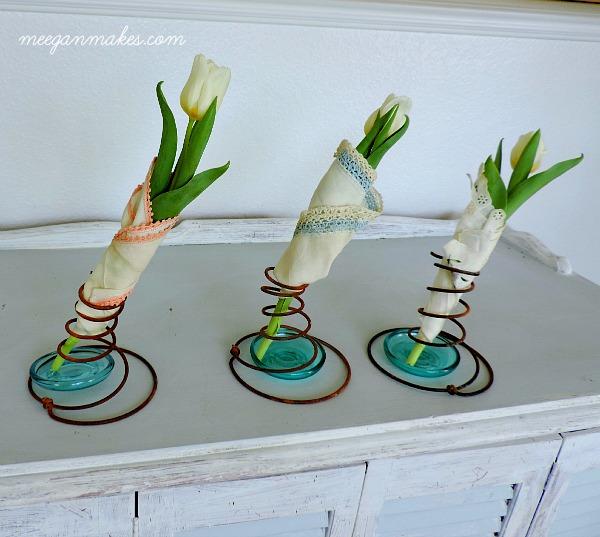 Box Spring Vases