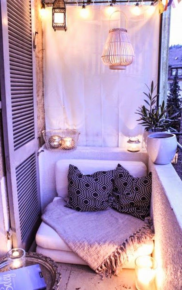Cozy Patio at Night