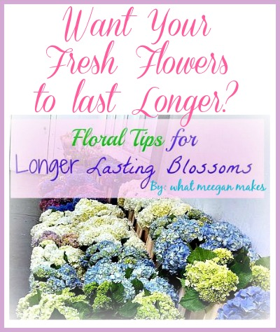 Floral Tips For Longer Lasting Blossoms Button