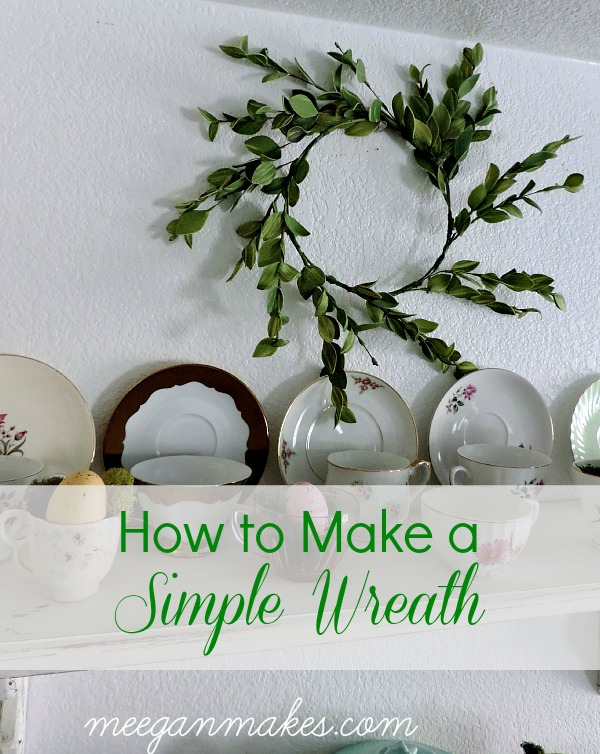 How To Make a Simple Wreath