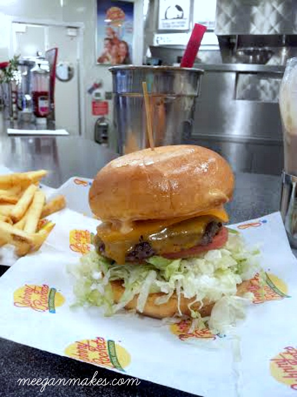 Johnny Rockets Burger and Shake