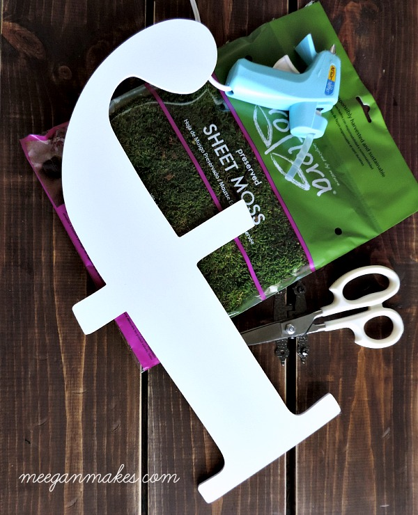 Moss Monogram Supplies