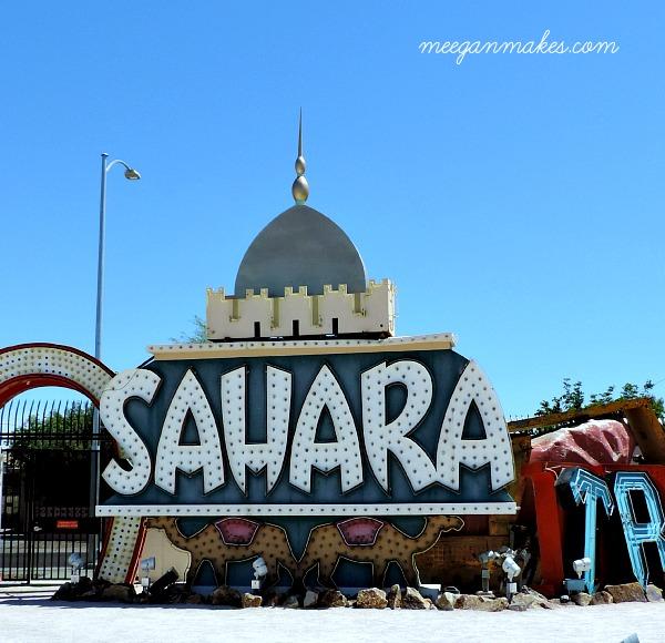 Neon Museum Sahara Sign