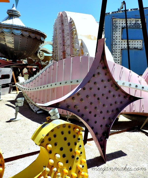 Neon Museum Sign Remnents