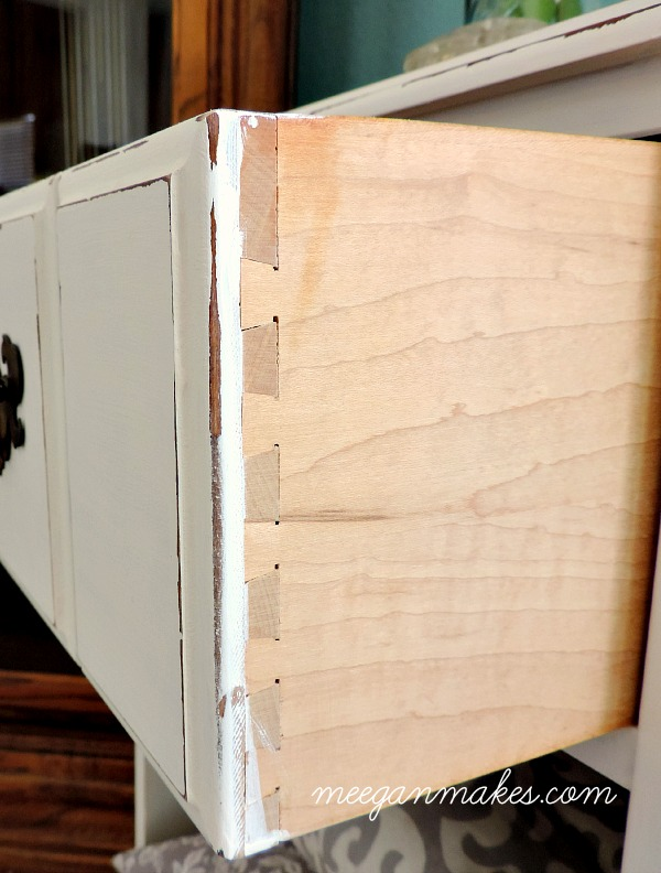 PB Inspired Night Stand Tongue and Groove