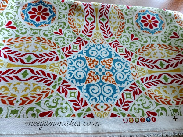 Fabric for Chair Makeover