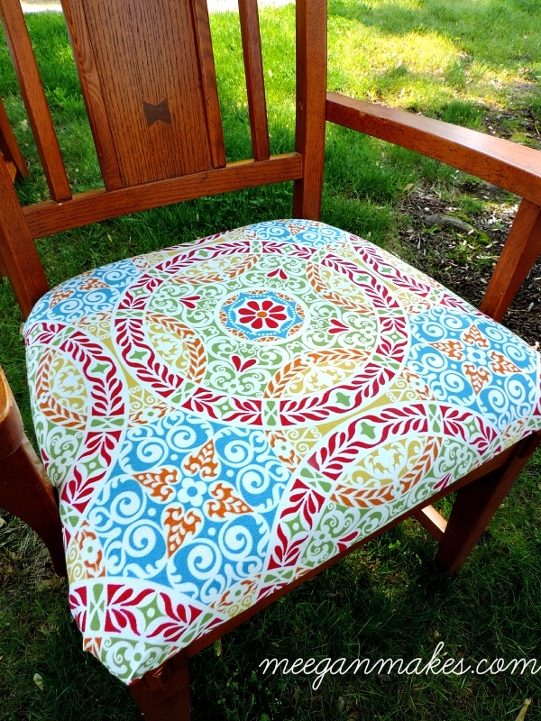 Recovering a Dining Room Chair