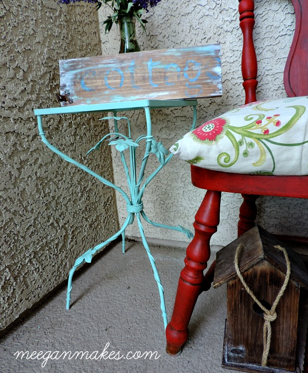 Small Side Table Makeover with Fusion Mineral Paint