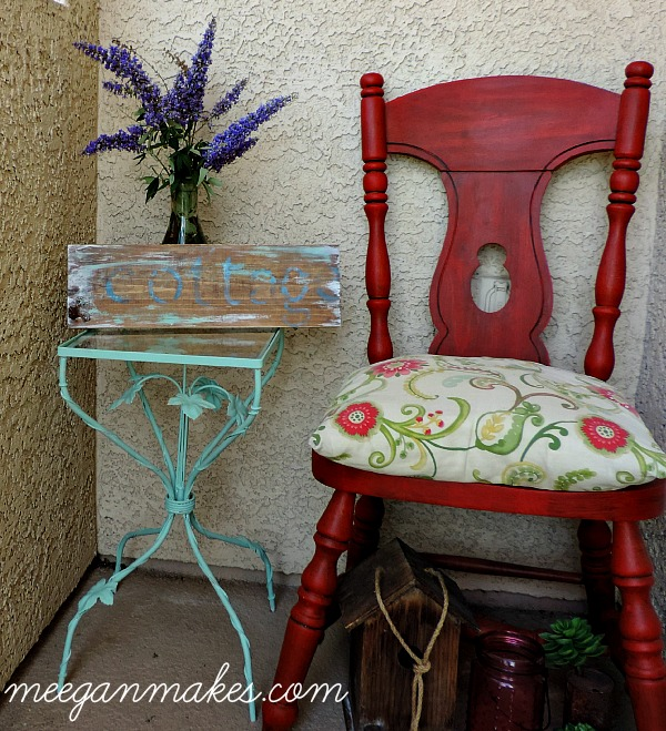 Small Table Makeover using Fusion Mineral Paint