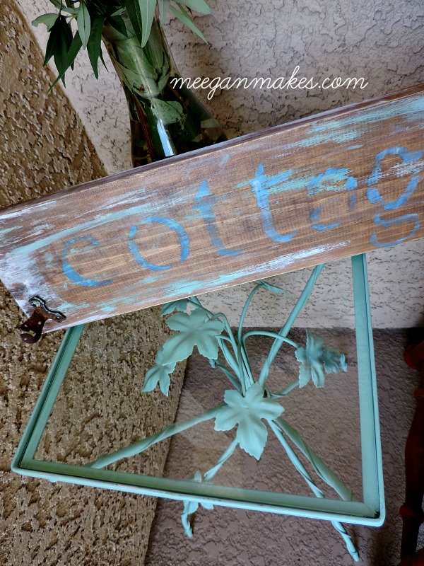 Small Table Makeover with Fusion Mineral Paint