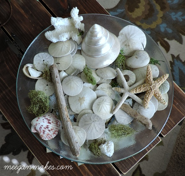 Summer Sea Shell Pedestal