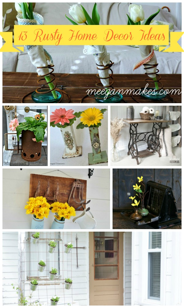 13 Rusty Home Decor Ideas