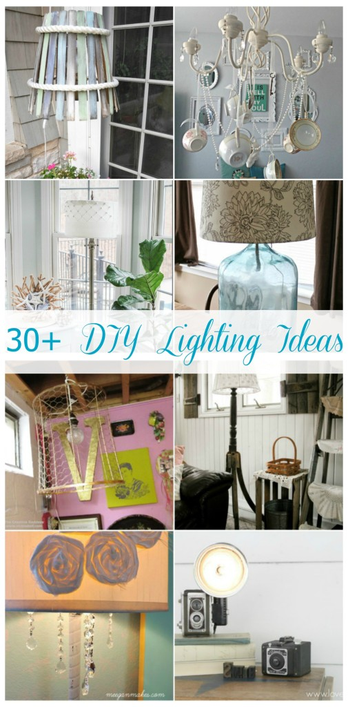 30+ DIY Lighting Ideas