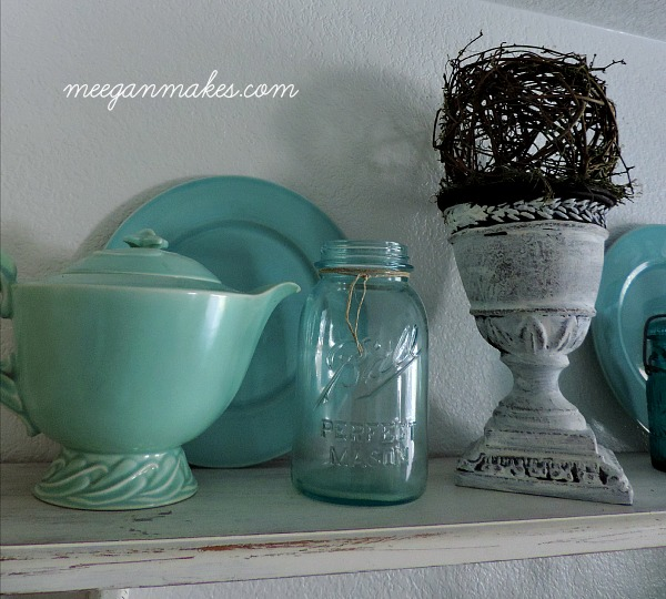 Blue and Green Dinnerware