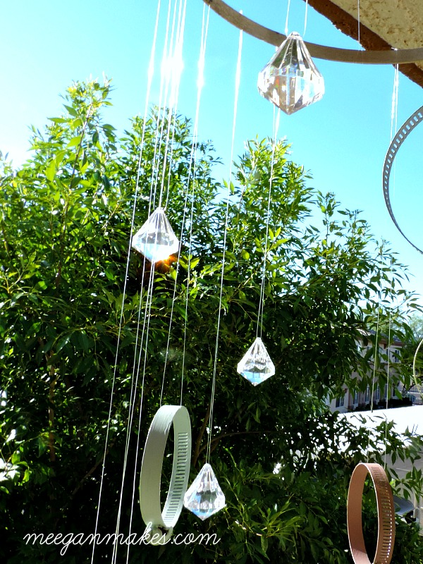 Clamp and Crystal Sun Catcher