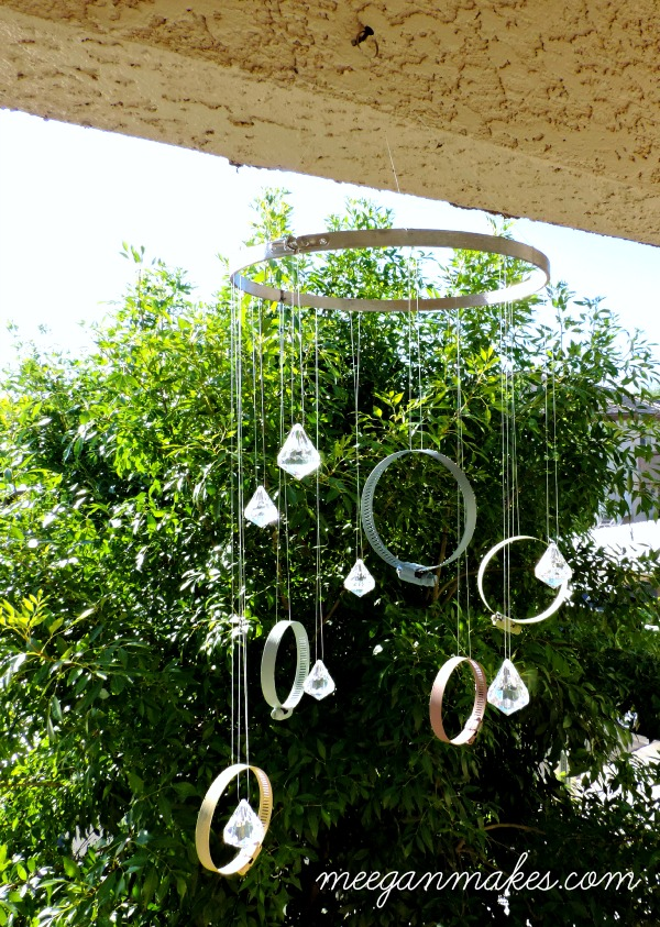 DIY Clamp Sun Catcher