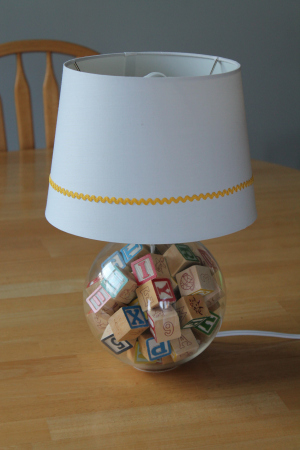 DIY Nursery Lamp