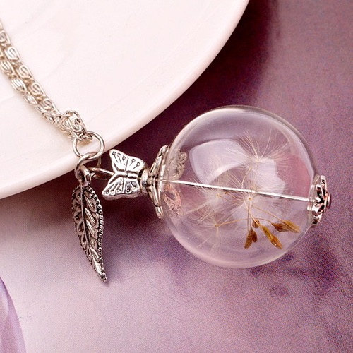 Dandelion Necklace Details