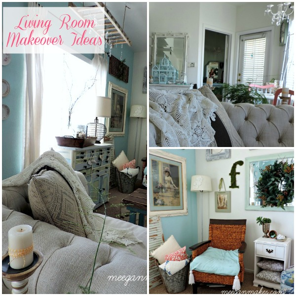Living Room Makeover Ideas by What Meegan Makes