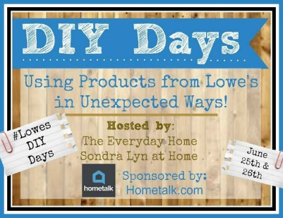 Lowes DIY Days Button