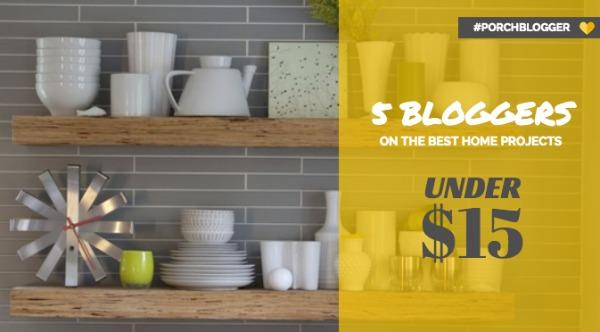 #PorchBloggers Under $15