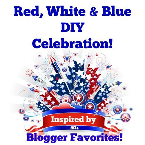 Red White and Blue DIY Inspiration