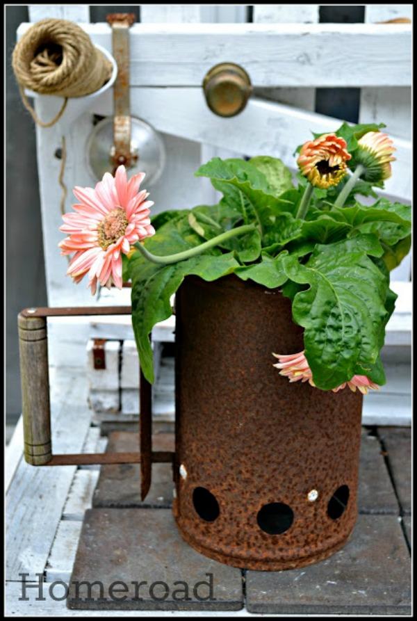 Rusty Planter