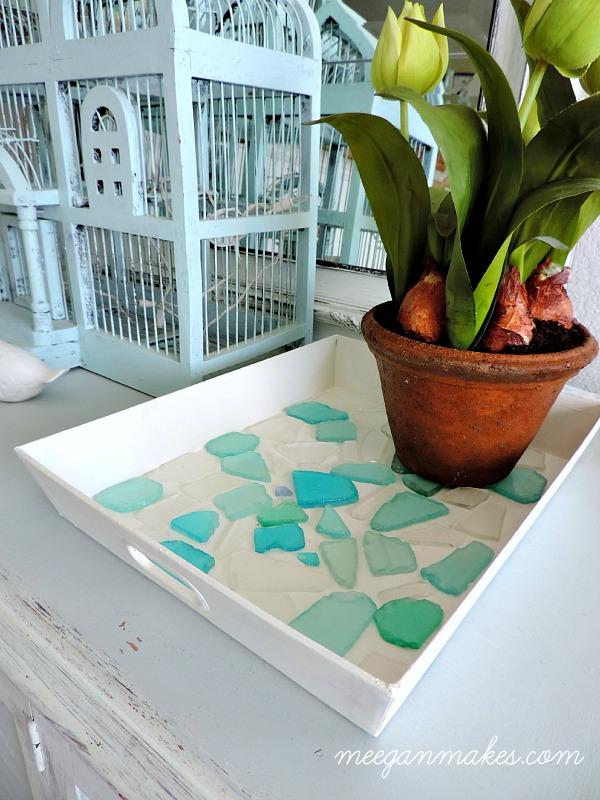 Sea Glass Tray