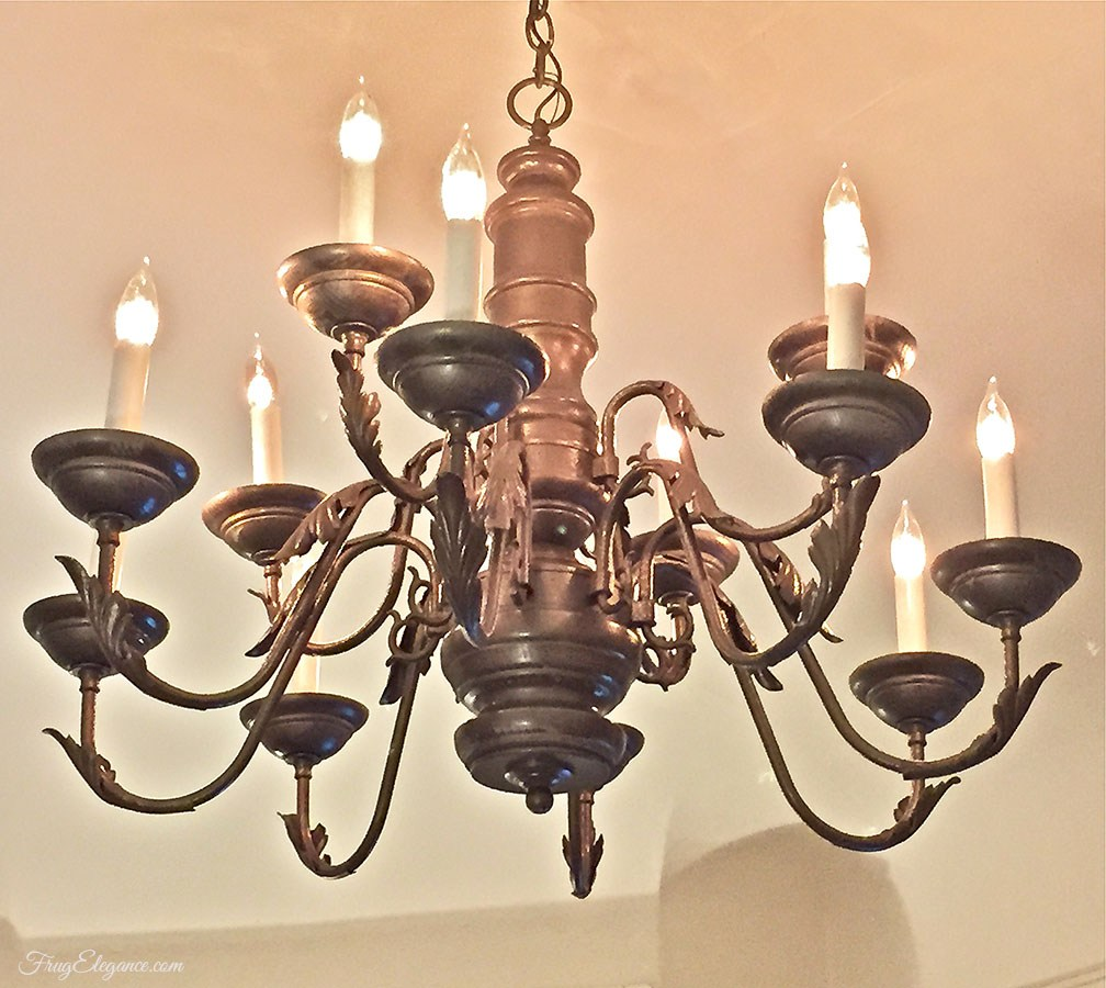 Updated Chandelier Light Fixture