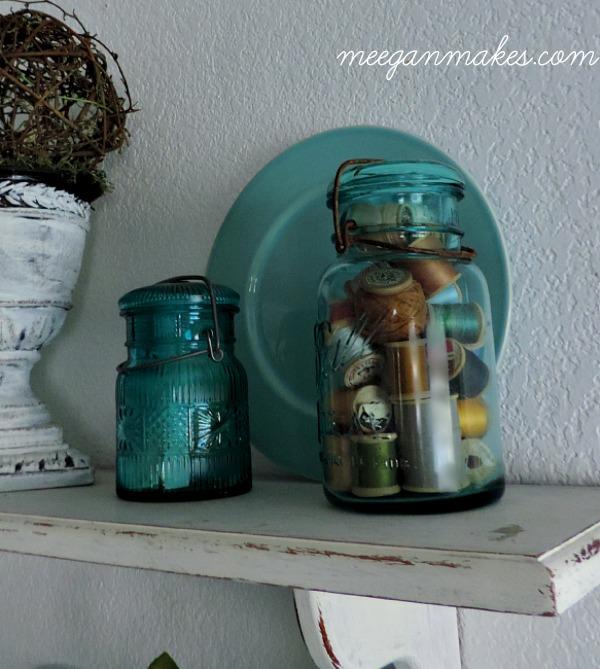 VintageBlue Mason Jars