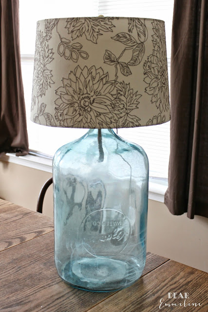 antique-water-bottle-turned-lamp