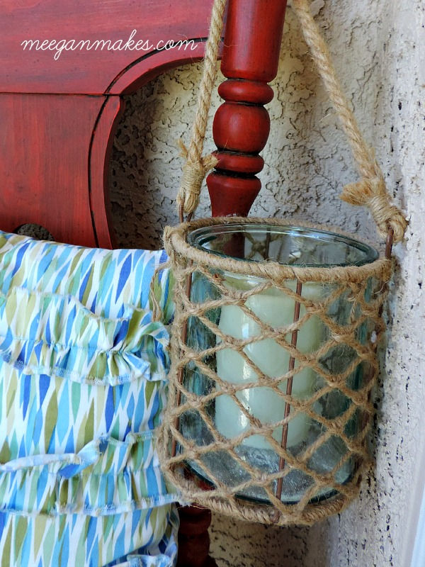 Beachy Jute Tea Light