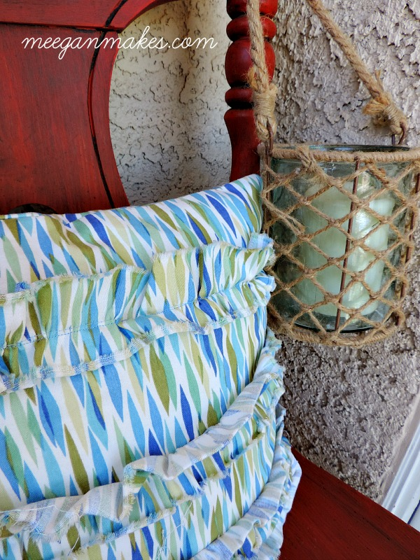 Beachy Porch Decor