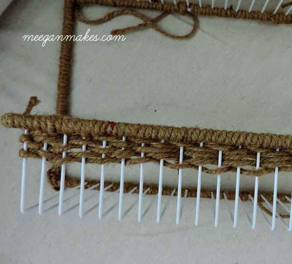Spice Rack Woven With Jute