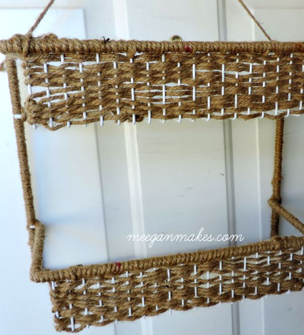 Spice Rack Woven with Jute for Flowers