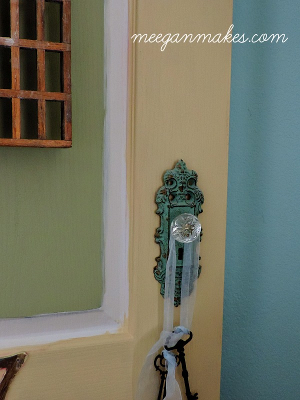 Thrifted Door Makeover