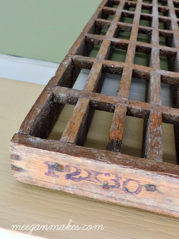 Vintage Heater Floor Grid