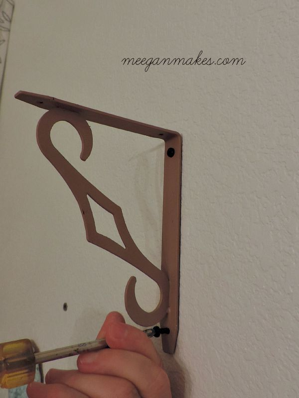Attaching a Bracket to a Wall