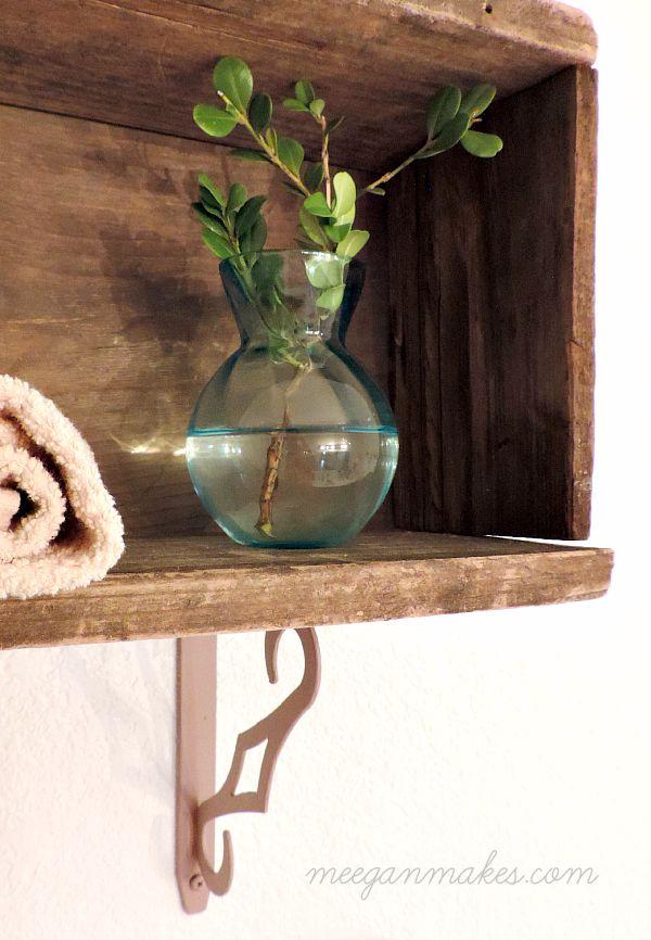 Bathroom Barn Wood Box