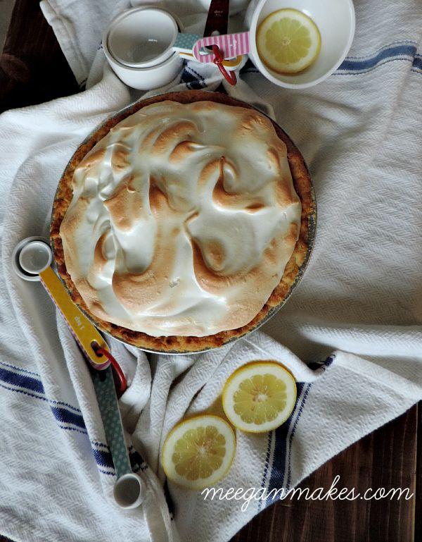 Finished Lemon Meringue Pie