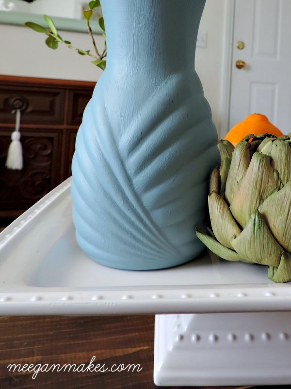 Fusion Mineral Paint Vase Details