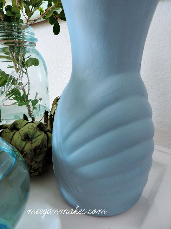 Vase Painted with Fusion Mineral Paint