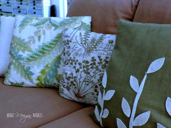 Fall Leaf Pillows