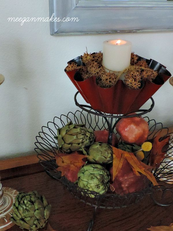 $3 Fall Centerpiece