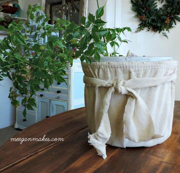 Anthropologie-Inspired-Drop-Cloth-Bucket