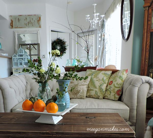 Early Fall in the Living Room
