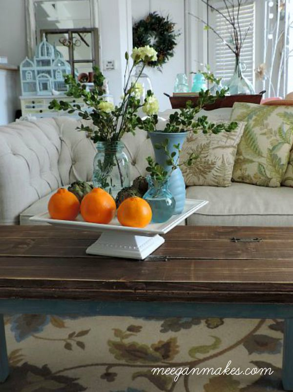 Fall Pillows and Carnations