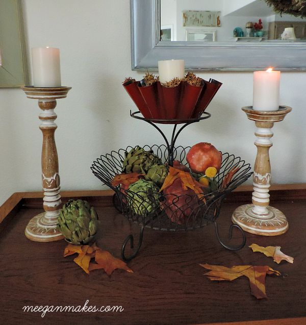Fall Thrifted Basket