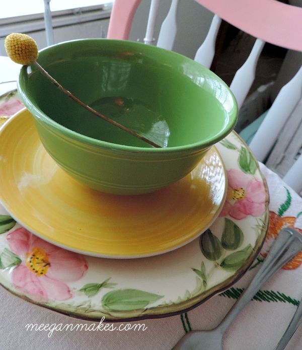 Franciscan Ware For a Fall Table